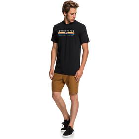 Quiksilver Get Bizzy Camiseta Hombre, black